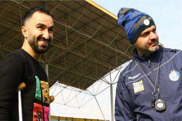 شجاعیان میهمان ویژه آخرین تمرین استقلال قبل از ملاقات با سپاهان